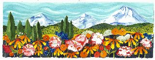 State Fair mts and flowers