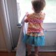 Girl sister skirt