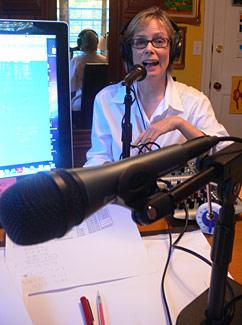 Meg_radio_show