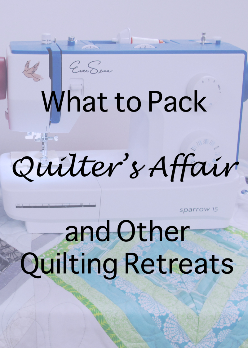 Quilters Affair Blog
