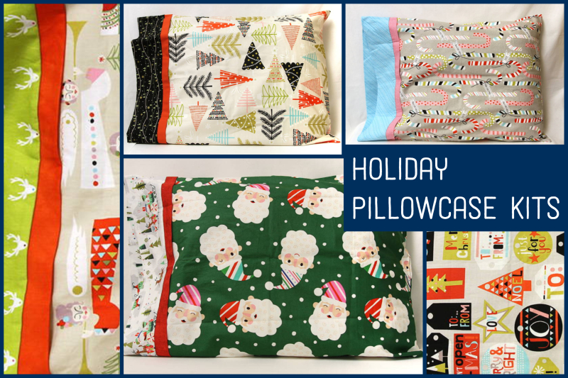 HolidayPillowcaseKits