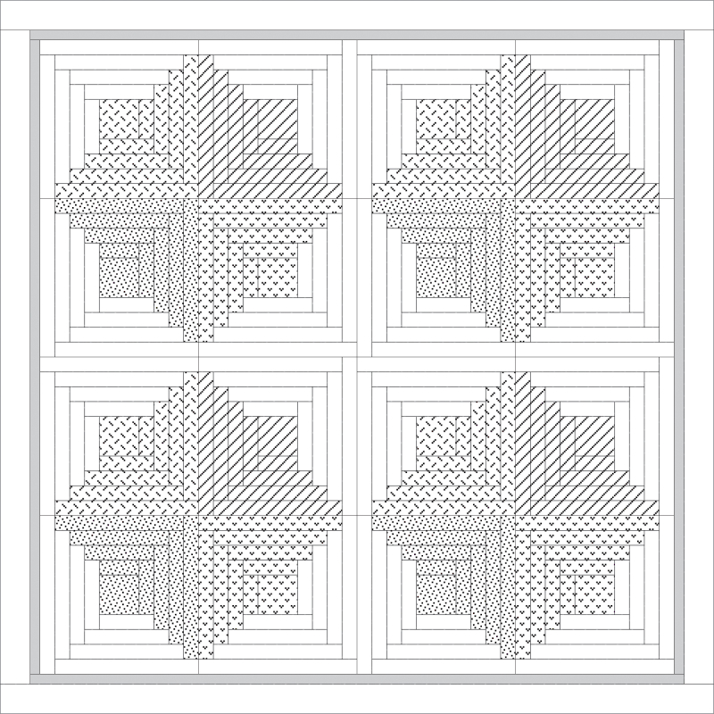 Sorbet Log Cabin diagram-02