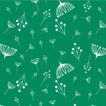 CH-87-Green_Charley_Harper_Twigs_Green_from_Birch_Fabrics